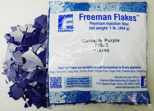 FREEMAN INJECTION FLAKES- CARVABLE PURPLE 1LB-Transcontinental Tool Co