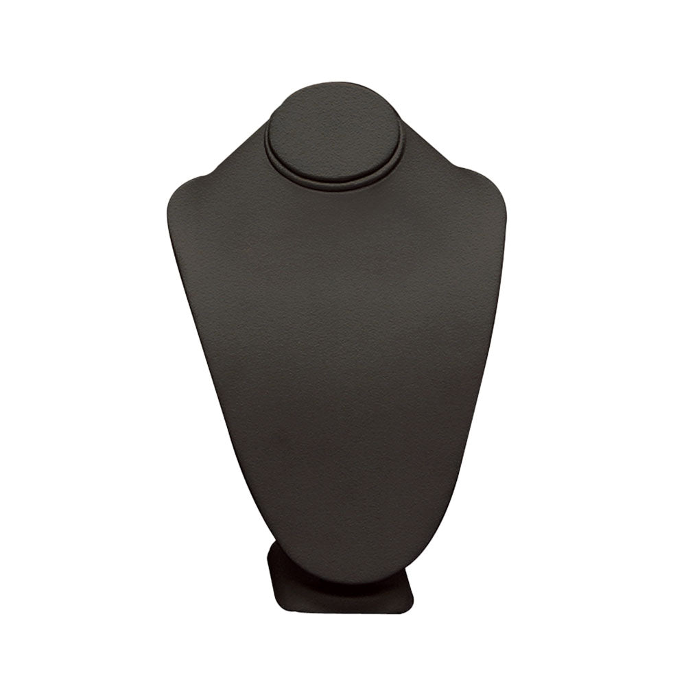 "SMALL STANDING NECK BUST BLACK LEATHER 7-1/2""-Transcontinental Tool Co"
