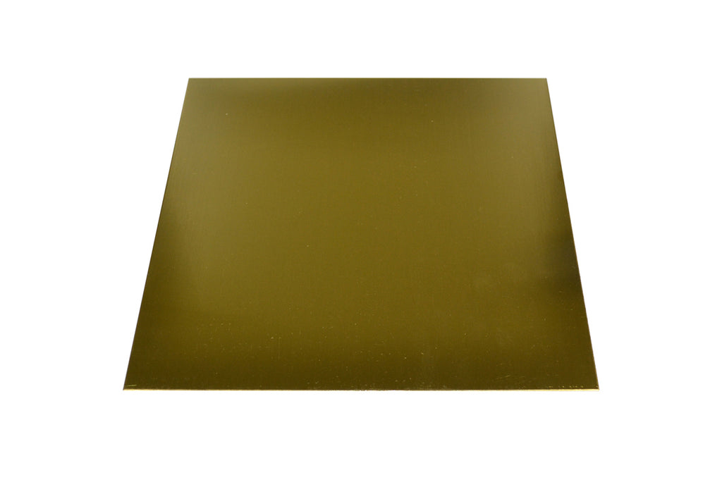 "BRASS SHEET 12 X 12"" - 16 GAUGE-Transcontinental Tool Co"