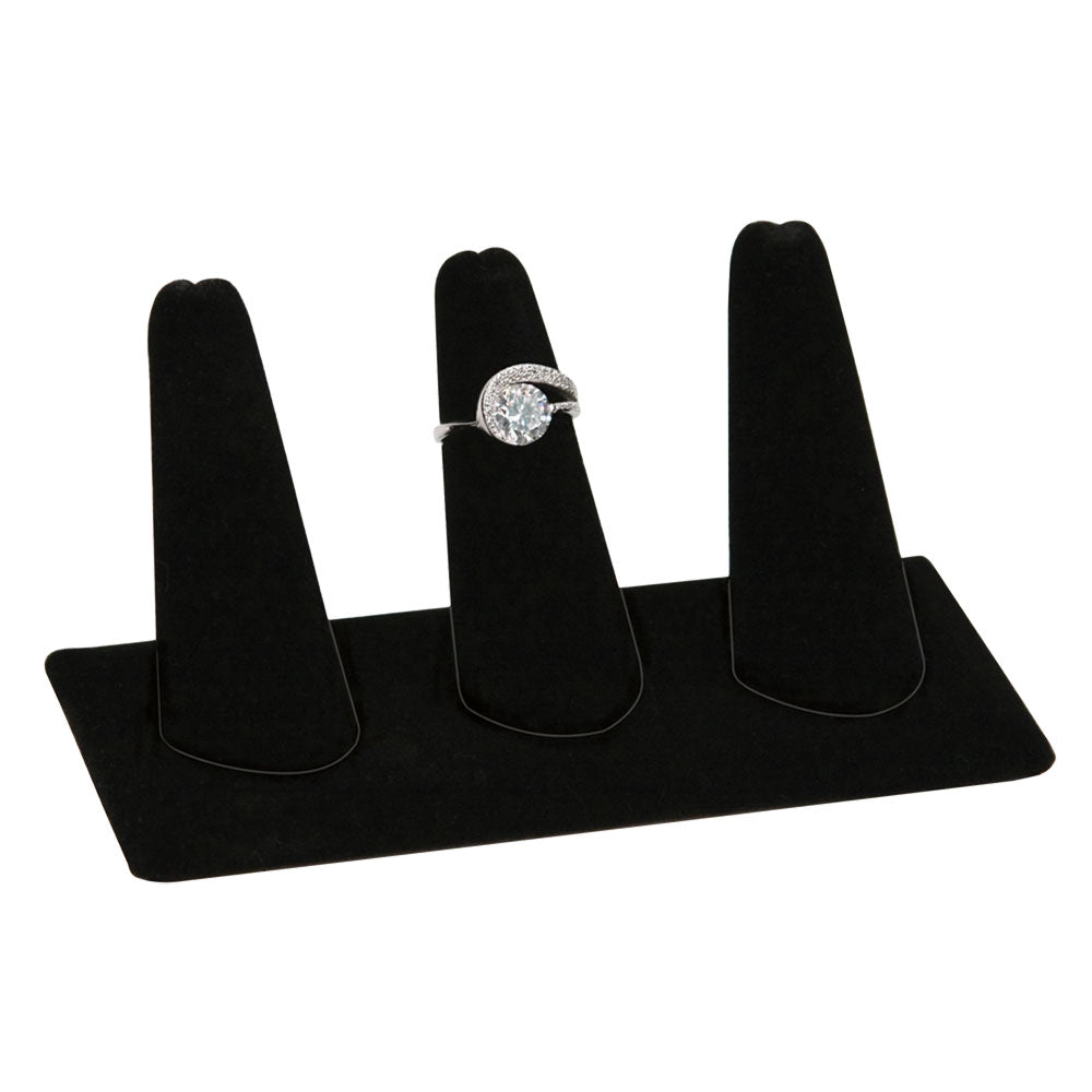 3 FINGER RING STAND BLACK ONLY-Transcontinental Tool Co