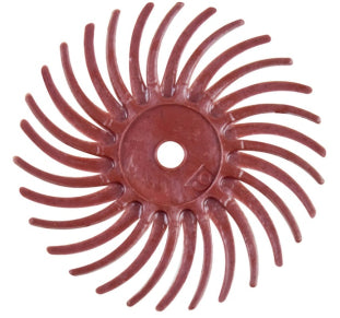 "3M RADIAL BRISTLE DISCS 220G RED 3/4"" (6PCS)-Transcontinental Tool Co"