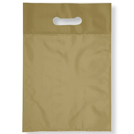 "METALLIC GOLD PLASTIC BAGS 7X9"" 100PCS-Transcontinental Tool Co"