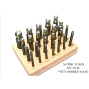 24PC DAPPING PUNCH SET-Transcontinental Tool Co
