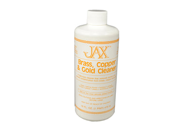 JAX BRASS GOLD COPPER CLEANER PINT-Transcontinental Tool Co