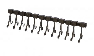 ADJUSTABLE CLEANING BAR RACK 12 HOOK-Transcontinental Tool Co