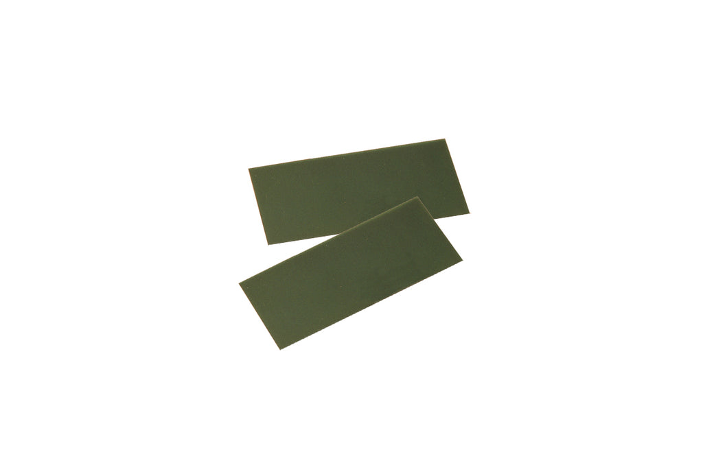 "SHEET WAX GREEN FIRM 6 X 3"" GAUGE 22 (0.64MM)-Transcontinental Tool Co"