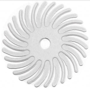 "3M RADIAL BRISTLE DISCS 120G WHITE 9/16"" (6PCS)-Transcontinental Tool Co"