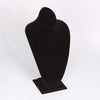 "EXTRA-LARGE CONTOURED NECK BUST BLACK VELVET 14-1/2""-Transcontinental Tool Co"