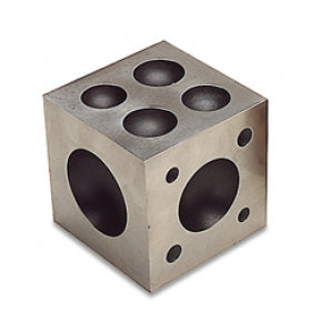 "DOMING BLOCK STEEL 2-1/2 X 2-1/2""-Transcontinental Tool Co"