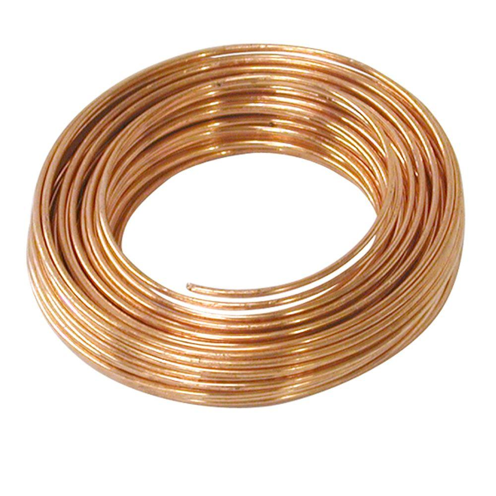 COPPER WIRE 28 GA ROUND DEAD SOFT 0.33MM 50FT-Transcontinental Tool Co
