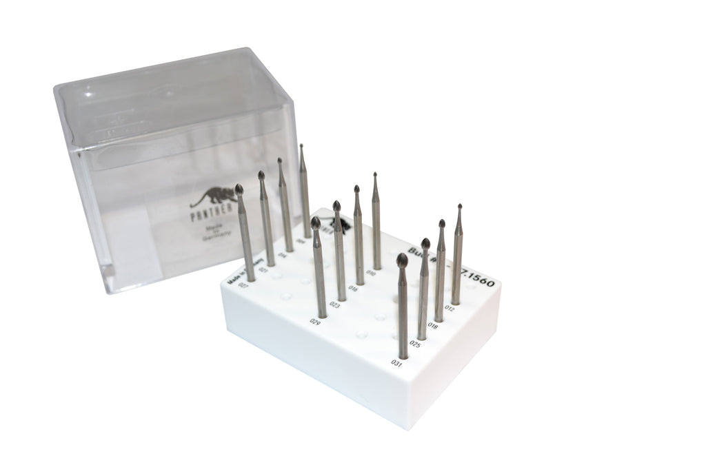 PANTHER BURS -BUD SET OF 12- 009-31 FIG 6-Transcontinental Tool Co