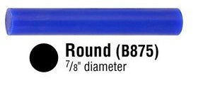 "B-875 FERRIS FILE-A-WAX ROUND SOLID 7/8""-Transcontinental Tool Co"