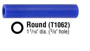 "T-1062 FERRIS FILE-A-WAX ROUND SOLID 1-16 X 5/8""H-Transcontinental Tool Co"