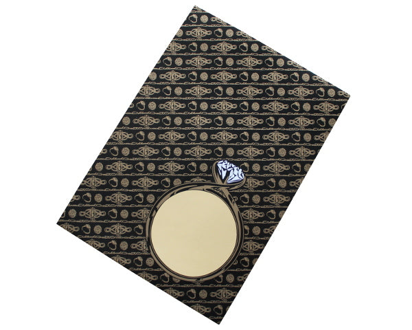 229x162mm Black & Gold Jewellery Envelopes (None Window) - Box of 100 - Biodegradable / Eco-Friendly / Food Safe - Intrinsic Paper Straws