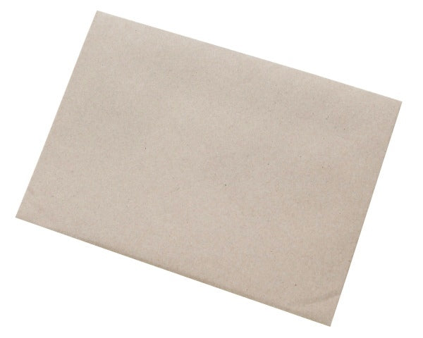 155x220mm C5- Manilla Gummed Envelopes (None Window) - Box of 500 - Biodegradable / Eco-Friendly / Food Safe - Intrinsic Paper Straws