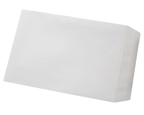 229x162mm C5 White Self Seal Envelopes (None Window) - Box of 500 - Biodegradable / Eco-Friendly / Food Safe - Intrinsic Paper Straws