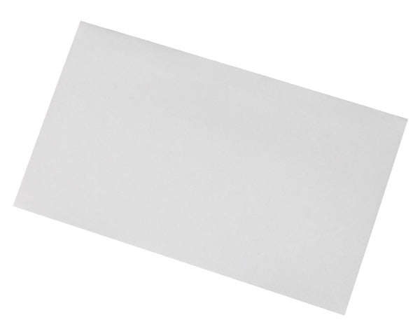 89x152mm White Gummed Envelopes (None Window) - Box of 1000 - Biodegradable / Eco-Friendly / Food Safe - Intrinsic Paper Straws