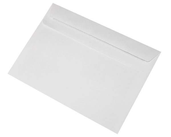 162x229mm C5 White Self Seal Envelopes (None Window) - Box of 500 - Biodegradable / Eco-Friendly / Food Safe - Intrinsic Paper Straws