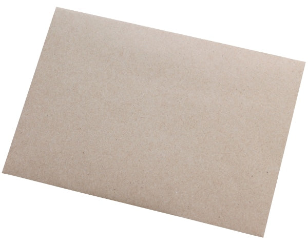 114x162mm C6 Manilla Gummed Envelopes (None Window) - Box of 1000 - Biodegradable / Eco-Friendly / Food Safe - Intrinsic Paper Straws