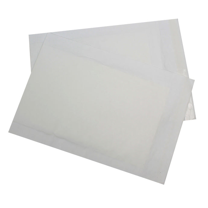 265x180mm White Paper Padded Envelopes - Pack of 20 - Biodegradable / Eco-Friendly / Food Safe - Intrinsic Paper Straws