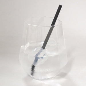 Black Paper Straws (6mm x 140mm) - Intrinsic Paper Straws