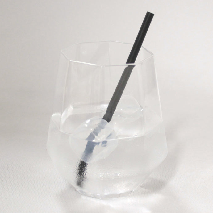 Black Paper Straws (6mm x 140mm) - Biodegradable / Eco-Friendly / Food Safe - Intrinsic Paper Straws