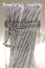 Load image into Gallery viewer, Bury FC - Save Our Shakers Paper Straws S1 (6mm x 200mm) - Biodegradable / Eco-Friendly / Food Safe - Intrinsic Paper Straws