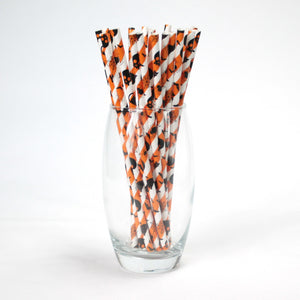 Halloween Paper Straws (6mm x 200mm) - Intrinsic Paper Straws