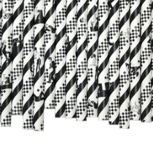 Load image into Gallery viewer, Blues / Jazz Paper Straws (6mm x 200mm) - Intrinsic Paper Straws