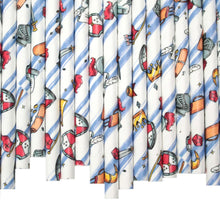 Load image into Gallery viewer, Knights Paper Straws (6mm x 200mm) - Biodegradable / Eco-Friendly / Food Safe - Intrinsic Paper Straws