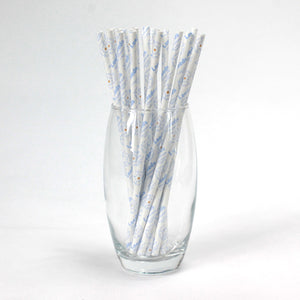 Leeds Paper Straws - Champions (6mm x 200mm) - Biodegradable / Eco-Friendly / Food Safe - Intrinsic Paper Straws