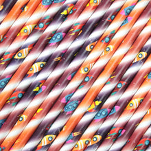 Load image into Gallery viewer, Space Rockets Paper Straws (6mm x 200mm) - Intrinsic Paper Straws