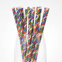 Load image into Gallery viewer, Toy Bricks Paper Straws (6mm x 200mm) - Intrinsic Paper Straws