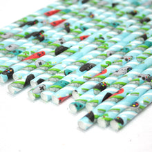 Load image into Gallery viewer, Individually Wrapped Video Games Paper Straws (6mm x 200mm)