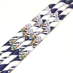 West Brom Paper Straws (6mm x 200mm) - Biodegradable / Eco-Friendly / Food Safe - Intrinsic Paper Straws
