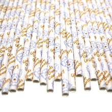Load image into Gallery viewer, Yorkshire Paper Straws - Gods Own Country (6mm x 200mm) - Biodegradable / Eco-Friendly / Food Safe - Intrinsic Paper Straws