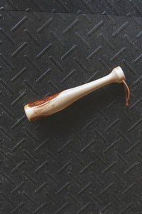 PEETZ Rustic Fish Bat Handcrafted from Alaskan Birch