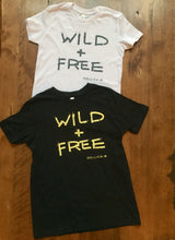 Load image into Gallery viewer, Wild + Free :: Kid's T-Shirt
