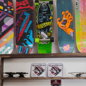 Skateboards, Decks, Longboards, etc. Check out in-shop!