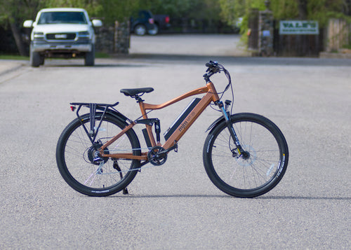 MJM Wheels - Full Suspension Mountain E-Bike (MT20)