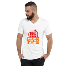 Load image into Gallery viewer, Let's Reboot 2020 with this sexy Unisex Short Sleeve V-Neck T-Shirt