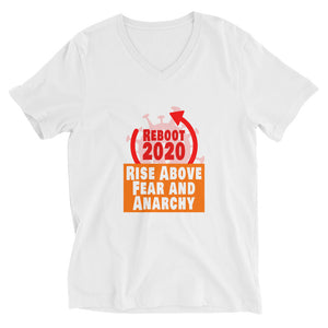 Let's Reboot 2020 with this sexy Unisex Short Sleeve V-Neck T-Shirt