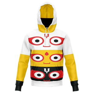 Jagannath Tri- Color Hoodie - The Columbian Exchange Group