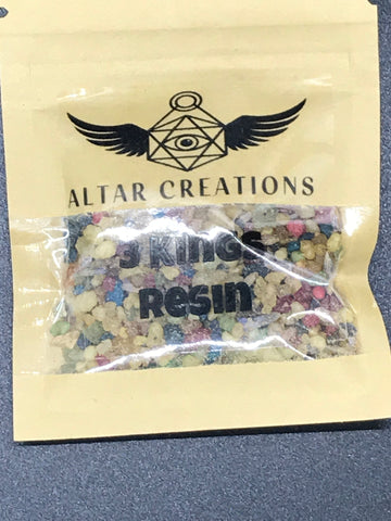 3 Kings Resin Incense | 1 Oz. - The Columbian Exchange Group