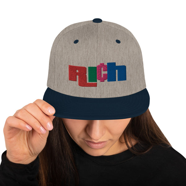 RICH CA$H Snapback Hat - The Columbian Exchange Group