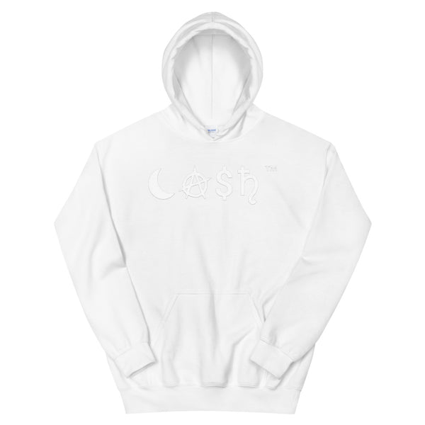 White CA$H Hoodie - The Columbian Exchange Group