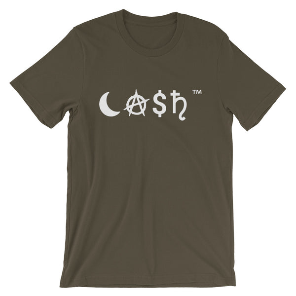 White CA$H TEE - The Columbian Exchange Group