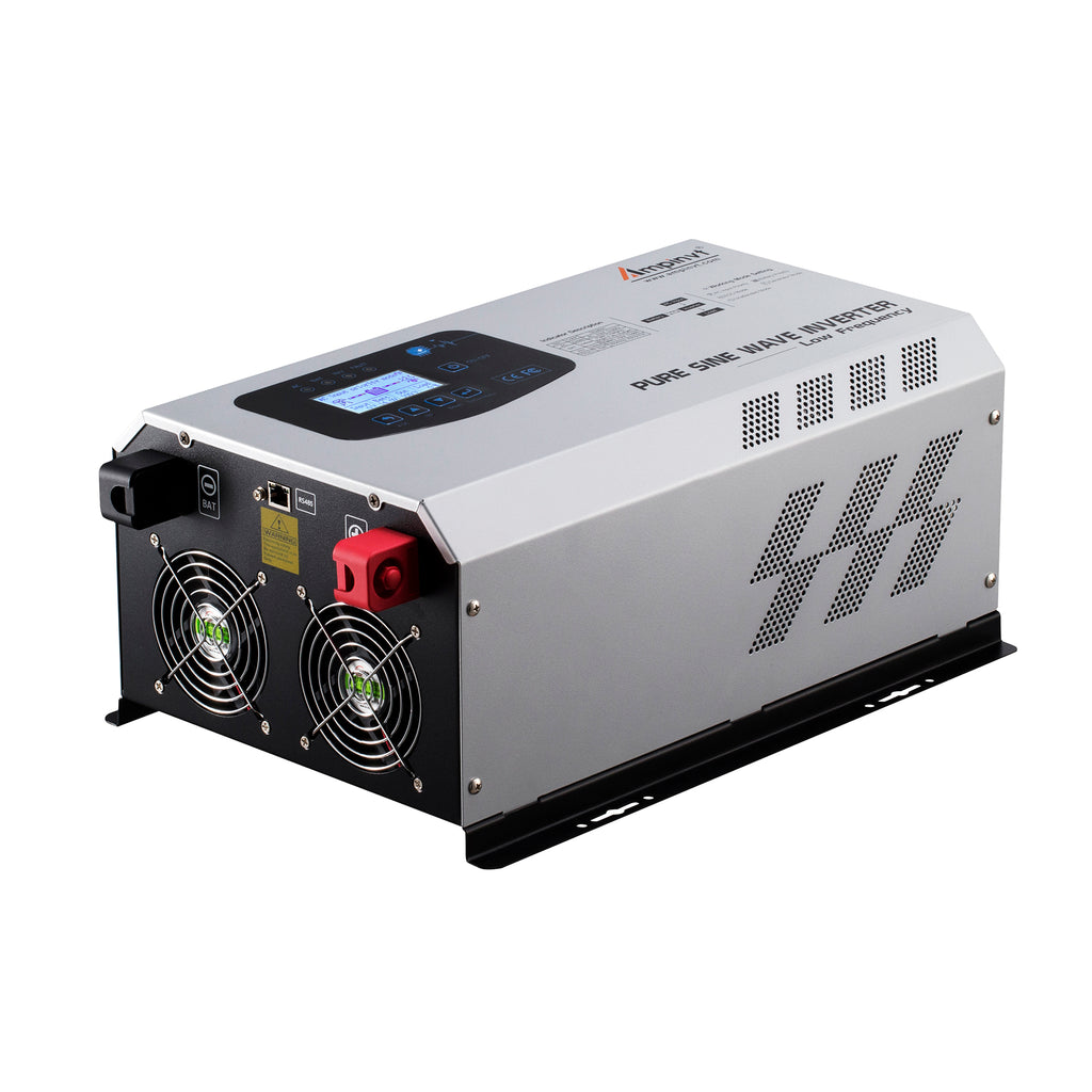 Ampinvt 3000W Peak 9000watts Pure Sine Wave Power Inverter DC 12V to AC 110V Output with Charger