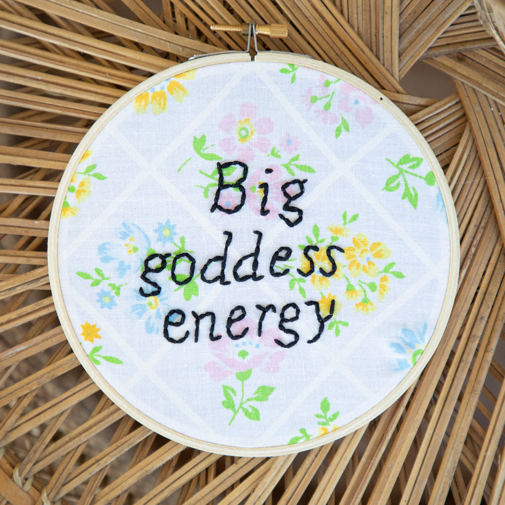 Big Goddess Energy Hoop