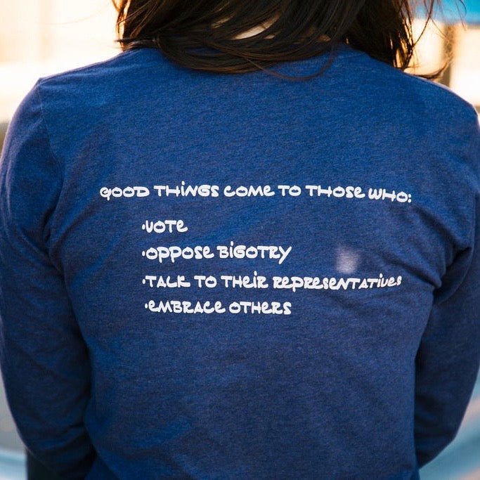 Good Things Come To Those Who Vote, Long Sleeve Tee